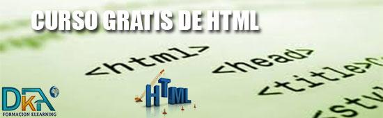 Curso Gratis de diseño HTML