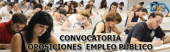 Convocatoria Oposiciones Empleo Publico