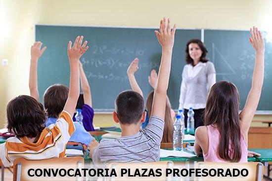 convocatoria plazas profesorado madrid