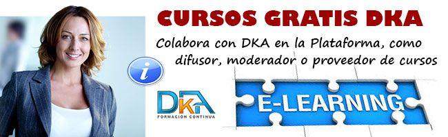 Colabora con la Plataforma de cursos gratis DKA