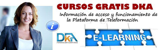 Información cursos gratis DKA