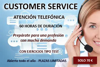 curso customer service atencion telefonica