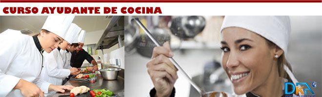 Cursos Gratis De Cocina | Curso Gratis Online Ayudante De Cocina