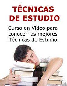 curso para aprender a estudiar